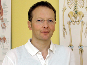 Physiotherapeut Florian Zels